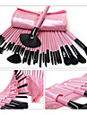 32pcs / set makeup borstar pulver stiftelse rouge ögonskugga eyeliner läpp pensel set