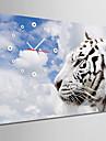 Dreptunghiular Modern/Contemporan Ceas de perete , Altele Canava35x50cm(14inchx20inch)x1pcs/40x60cm(16inchx24inch)x1pcs/