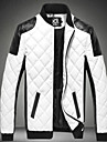 Bărbați Stand Jachetă De Bază - Bloc Culoare, Peteci