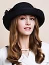 Femei Lână Diadema-Nuntă Ocazie specială Informal Birou & carieră Exterior Pălării/Căciuli 1 Bucată