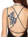 Tatueringsklistermärken Blomserier Ogiftig Vattentät Dam Herr Vuxen Tonåring Blixttatuering tillfälliga tatueringar