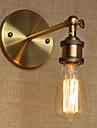 Rustic / Cabană Becuri de perete Pentru Metal Lumina de perete 220V 110V 40W