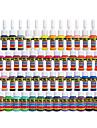 Solong tatuering bläck 54 färger inställd 5ml / flaska tatuering pigment kit