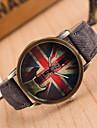 Dámské Náramkové hodinky Křemenný Kůže Černá / Bílá / Modrá Hodinky na běžné nošení Analogové dámy Vintage Módní - Zelená Modrá Růžová Jeden rok Životnost baterie / Tianqiu 377