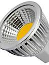 4W 400 lm GU5.3(MR16) LED-spotlights MR16 1 lysdioder COB Dekorativ Varmvit Kallvit DC 12 V