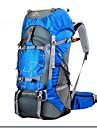 60 L Ryggsäck Rese Duffelväska Backpacker-ryggsäckar Camping Jakt Klättring Resa Fuktighetsskyddad Vattentät Regnsäker Bärbar Stötsäker