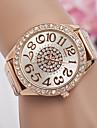 Bărbați / Pentru femei Ceas de Mână Ceas Casual Aliaj Bandă Modă / Elegant Argint / Auriu / Roz auriu