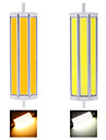 ywxlight® r7s led lumieres de mais 3 cob 2500 lm blanc chaud blanc froid decoratif ac 85-265 v 2pcs