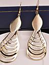 Pentru femei Franjuri Cercei Picătură - Personalizat, European, Declarație Argintiu / Auriu Pentru Nuntă / Petrecere / Ocazie specială