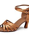 Latin / Salsa / Samba - Pantofi de dans (Negru / Maro / Multicolor) - Personalizat - Pentru femei