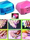 36w conduit ccfl forme seche-ongles de la lumiere UV diamant durcissement gel machine de lampe de vernis a ongles EU Plug 220v ou 110v