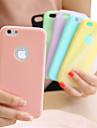 Pentru iPhone 8 iPhone 8 Plus Carcasă iPhone 5 Carcase Huse Ultra subțire Carcasă Spate Maska Culoare solidă Moale TPU pentru iPhone 8