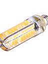 YWXLIGHT® 1200 lm E14 E17 G8 E12 LED-lampa T 80 lysdioder SMD 5730 Bimbar Dekorativ Varmvit Kallvit AC 110-130V