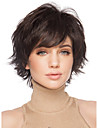 Synthetic Wig Curly With Bangs Side Part Brown Women\'s Capless Carnival Wig Halloween Wig Natural Wigs Short Synthetic Hair