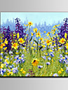 Oil Painting Hand Painted - Floral / Botanical Mediterranean With Stretched Frame