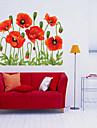 Autocollants muraux decoratifs - Autocollants avion Noel / Floral / Vacances Salle de sejour / Chambre a coucher / Bureau / Bureau de