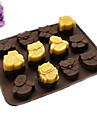 Bakeware verktyg Silikon GDS (Gör det själv) Födelsedag Kreativ Köksredskap 3D För Godis Choklad Kaka Tårta Cake Moulds