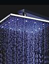 Moderne Douche pluie Chrome Fonctionnalite - Effet pluie LED, Pomme de douche