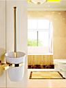 Suport Perie Toaletă Neoclasic Alamă 1 piesă - Hotel baie