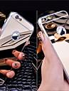 acrilice oglindă de cristal caz moale din spate pentru iPhone 5/5 sec / 5se / 6 / 6S / 6, plus / 6S plus