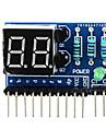 """2 cifre anod comun 0,36 """", modul de afișare digitală pentru Arduino + pi zmeură - albastru"""
