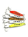 5 st Fiskbete Metallbete Skedar Metall Kastfiske Färskvatten Fiske Generellt fiske Drag-fiske Abborr-fiske Karpfiske