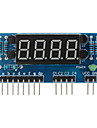 """4-siffriga gemensam anod 0,36 """"digital display modul för Arduino + hallon pi - blå"""