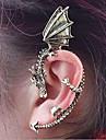 Cătușe pentru urechi Aliaj Balaur Argintiu Auriu Bijuterii Pentru Zilnic Casual 1 buc