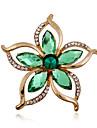 Dame Broșe Teracotă Ștras imitație de diamant La modă Verde Bijuterii Nuntă Petrecere Ocazie specială Zi de Naștere Zilnic