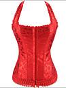 shaperdiva femeie printesa paisley satin corset de sus