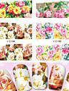4 Vattenövergångsklistermärke Nail Smycken 3D Nail Stickers Foliebandspapp Mode Punk Dagligen Hög kvalitet