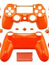 caz controler de înlocuire pentru cazul controlerului PS4 PS4 (portocaliu / mov / roz)
