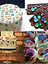 Dekorationsverktyg Choklad Kaka Tårta Silikon Födelsedag Hög kvalitet