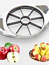 1 st Apple Skärare & Skivare For för frukt Plast Rostfritt Stål Hög kvalitet Kreativ Köksredskap Originella
