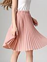 stil nou de femei toate meciurile fusta plisată vintage talie mare arată femei fuste subțiri