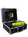 rörinspektion systemet 30m inspektion rörlednings rörväggen 7 tums TFT-skärm kamera med 12 LED-lampor 4GB kort rekord
