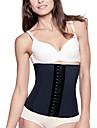 Feminin Corset sub Bust / Plus Size Pijamale Bumbac / Polyester / Spandex / Modal Negru / Bej