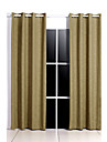 Rod Pocket Grommet Top Tab Top Double Pleat Pencil Pleat Two Panels Curtain Modern European Mediterranean Neoclassical Country, Print