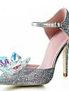 Dame - Pantofi de nunta - Tocuri / Vârf Ascuțit - Pantofi cu Toc - Nuntă / Rochie / Party & Seară - Argintiu