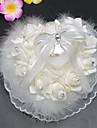 dantelă a crescut cu struț decorative frontieră inel perna caseta ceremonie de nuntă