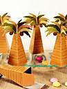 Rotund Pătrat Creative Hârtie cărți de masă Favor Holder cu Imprimare Cutii de Savoare Genți Savoare Punguțe de Prăjituri Cutii de Cadouri