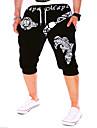 Bărbați Activ / De Bază Bumbac Larg Activ / Pantaloni Sport / Pantaloni Scurți Pantaloni Scrisă / Sfârșit de săptămână