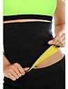Stödförband för rygg Sport Stöd Skyddande Andningsfunktion Enkel på- och avklädning Kompression Stretch Fitness Svart Blekna