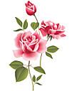 Stilleben Romantik Mode Blommig Botanisk Fritid Väggklistermärken Väggstickers Flygplan Dekrativa Väggstickers Bröllopstickers, pvc