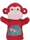 Macaco Fantoches de dedo Novidades Desenho Textil Para Meninos / Para Meninas Dom
