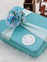 cuboid metal favoriza titular cu panglici cutii cadou-6 nunti favoruri