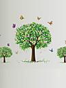 Djur Botanisk Romantik Stilleben Mode Blommig Fritid Väggklistermärken Väggstickers FlygplanDekrativa Väggstickers Klistermärken för