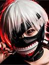 rece Cosplay Tokyo Ghoul kaneki ken Halloween partid fermoar reglabil masca prop