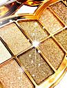 12pcs OEil Miroir / Couvercle a ouverture simple Melange / Sec / Normal Fards a Paupieres Poudre Maquillage Quotidien / Maquillage