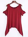 Pentru femei Mărime Plus Size Tricou Mată Bufantă Bumbac